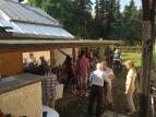 Viele Unitarier mit ihren lieben Angehörigen sind da