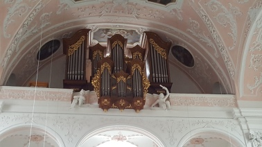 Orgel der Schutzengelkirche